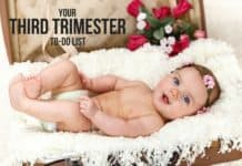 To Do List for Baby - number of things you need to do