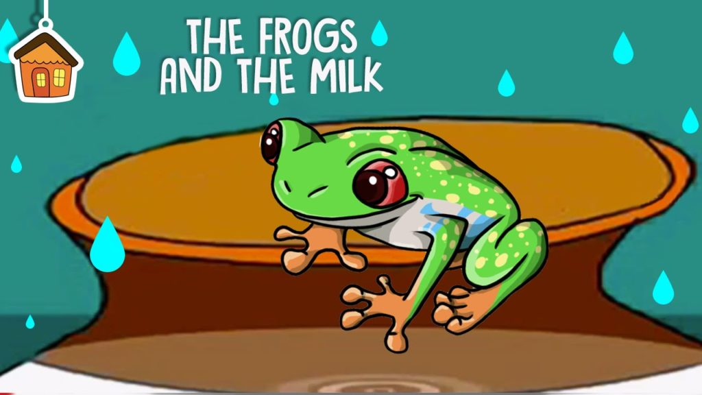Frogs and the milk:: Short moral stores for kids