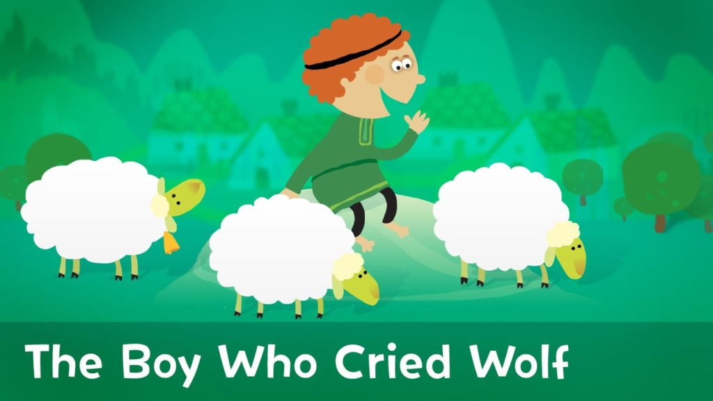 The boy who cried wolf: inspirational stories for kids
